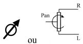 Potentiomètre rotatif