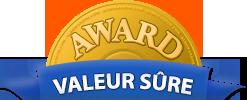 Award Valeur sûre 2015