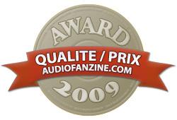 Award Qualité / Prix 2009