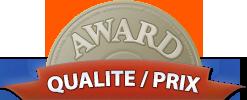 Award Qualité / Prix 2016