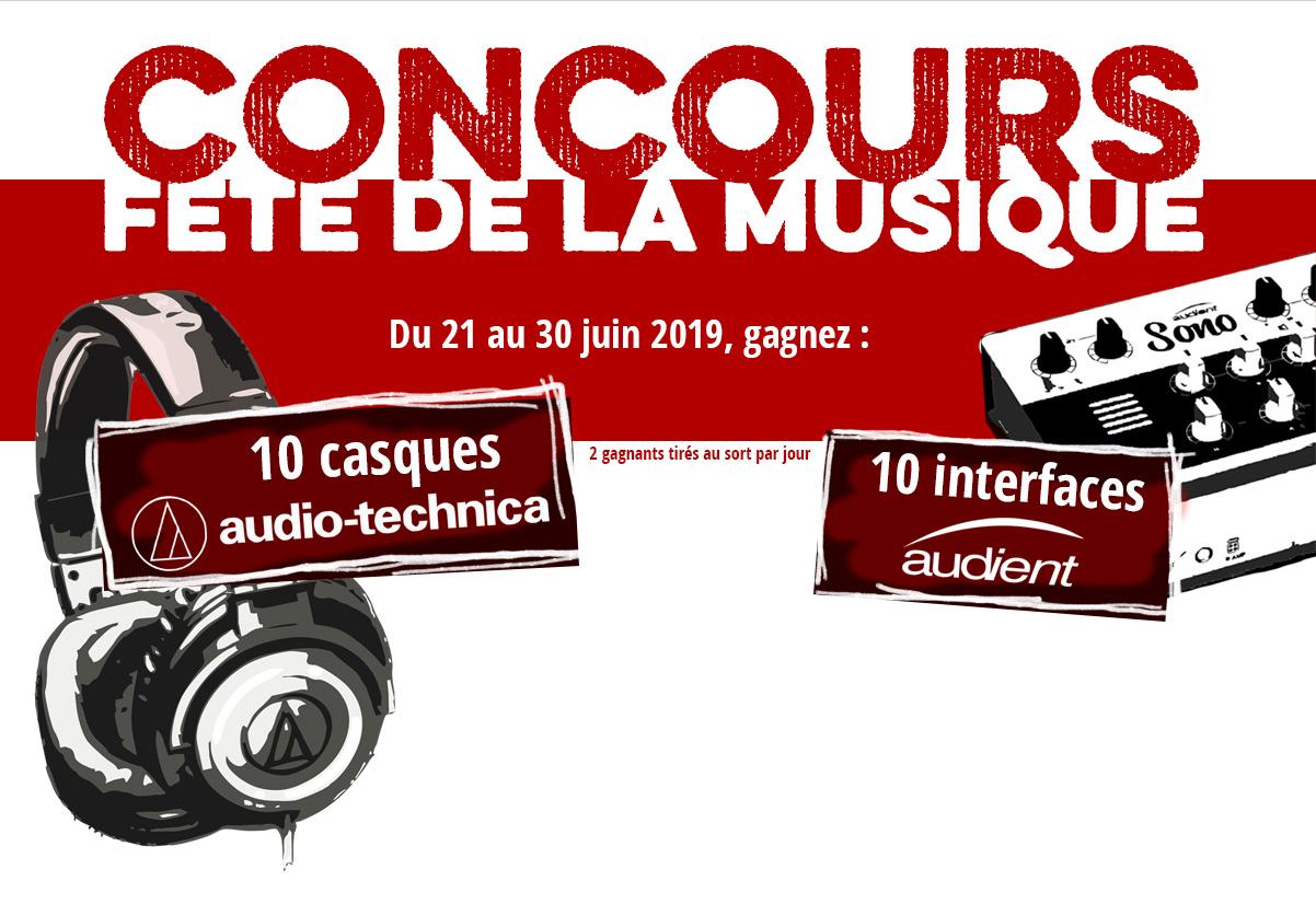 Concours Fête de la Musique 2019
