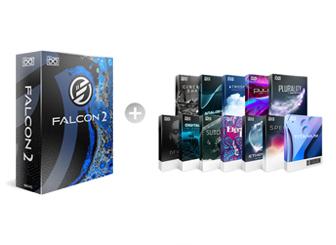 UVI Falcon 2 avec toutes les extensions, synthé virtuel hybride