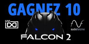Gagnez 10 Falcon 2 avec UVI et Audiofanzine du 1er au 10 décembre 2019 !