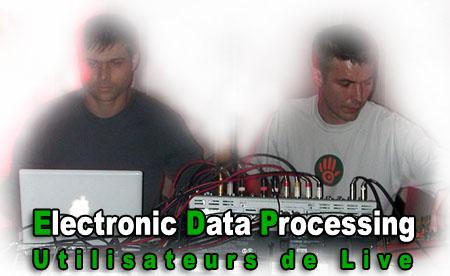 Electronic Data Processing, utilisateurs de Live depuis la première heure...