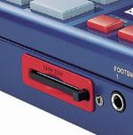 Emplacement pour mémoire Flash de la MPC1000