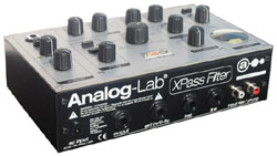 Vue de 3/4 Analog Lab Xpass Filter