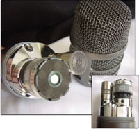 Deux capsules pour un maximume de polyvalence sur l'Audio-Technica AE2500