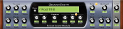 Roland Groovesynth dans Cakewalk Project5 2