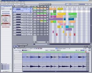 Groove Matrix dans Cakewalk Project5 2