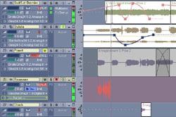 Détail de l'interface utilisateur du Sonar 3 de Cakewalk