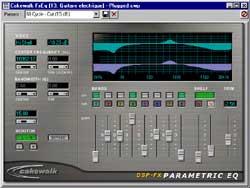 Cakewalk DSP-Fx Parametric EQ