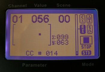 LCD joystick