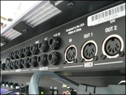Connectique de la Digidesign Digi003