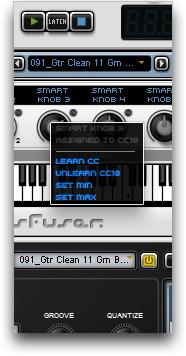 MIDI Learn CC