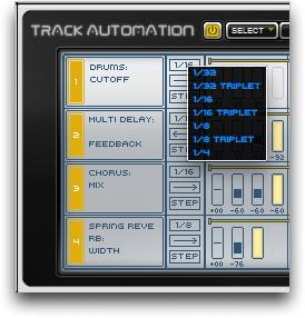 Quantize automation