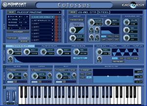 Interface du Quanteam Leap Colossus d'EastWest