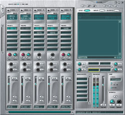 L'interface PatchMix de l'E-MU 0404