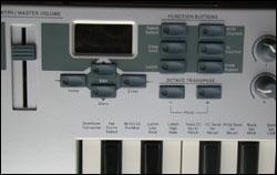 Simple et efficace, l'édition sur l'E-MU Xboard 49.