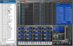Le Proteus LE, fourni avec l'E-MU Xboard 49 : un bon ROMpler qui permet de retrouver les grands classiques d'E-MU