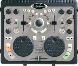 Surface de contrôle de la DJ Console.
