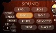 Le Philharmonik Miroslav d'IK Multimedia propose également de nombreuses possibilités d'édition et de modulation
