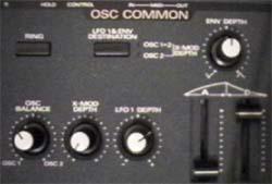 partie OSC COMMON du JP8000