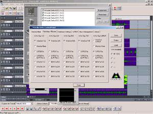 Le patchbay / routeur de la Delta 1010