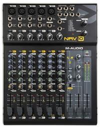 M-Audio NRV 10 : vue d'ensemble
