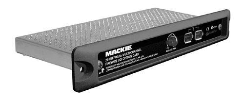 L'option FireWire de l'Onyx 1640 de Mackie