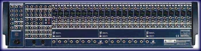 Connectique de la MX9000