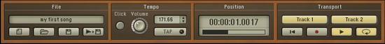 Un petit lecteur de fichiers MIDI équipe l'Akoustik Piano de Native Instruments