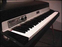 Le piano électrique Fender Rhodes