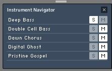 Navigateur d'instruments