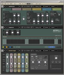 Aerobic dans Reaktor 5 de Native Instruments