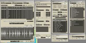 Les fenêtres de contrôles dans Reaktor 5 de Native Instruments