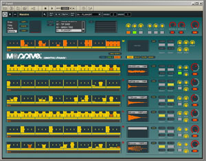 Massive dans Reaktor 5 de Native Instruments