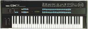 Le Yamaha DX7, face au Native Instruments FM7...