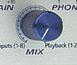 Le potard 'Mix' de la PreSonus FIREPOD.