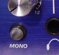 Le switch permettant une écoute mono sur le PreSonus HP4