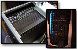 L'alim fanless du Silent PC de Racksen : une Antec Phantom