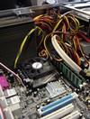 Intérieur du Silent PC de Racksen