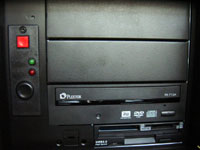 Façade du Silent PC de Racksen