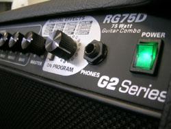 Randall RG75D G2 : le gros son en 75 watts.