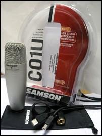 Le Samson C01U et ses accessoires