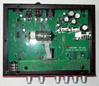 Intérieur du TB101 de SM Pro Audio