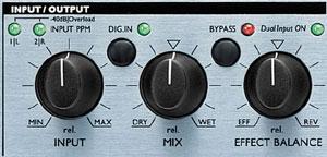 Contrôles des entrées et sorties audio du M300
