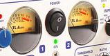 Vu-mètres du TL Audio 5052