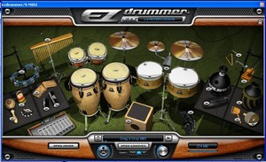 Le kit Latin Percussion d'EZdrummer